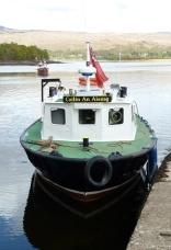 Ferry at Loch Eil, Scotland lochs, travel Scotland, bike Scotland, Scottish travel